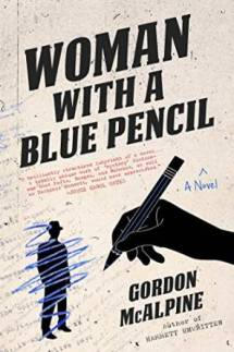 Woman with a Blue Pencil cover from Amazon