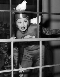 Another role model -- Lucille Ball, who was constantly doing dumb things either to please or impress her husband, so he would let her pursue her dream of performing in his club. (public domain)