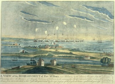 Ft. McHenry Bombardment, 1814