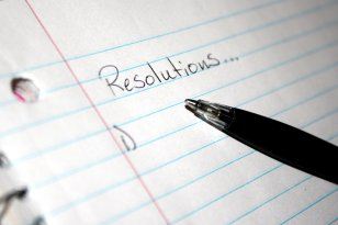 beginning a list of resolutions