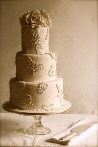 picture of wedding cake