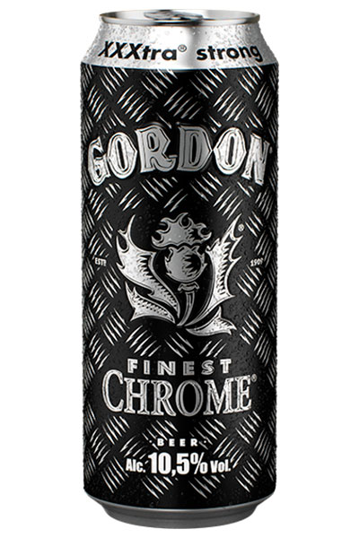 Beer Gordon Finest Chrome