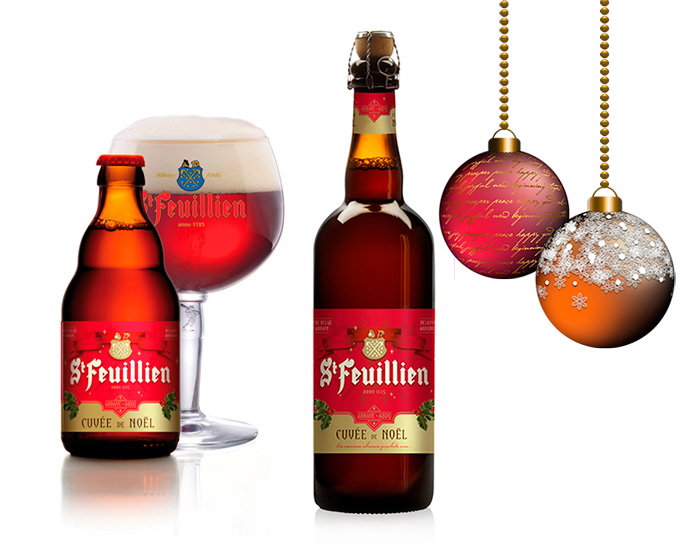 The Beer St-Feuillien Cuvee de Noel