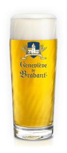 Glass with beer Geneviève de Brabant Spéciale