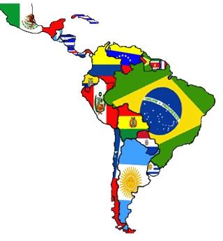 América Latina mapa