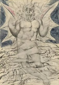 Illustrazione del Diavolo dalla Divina Commedia di Dante Alighieri.