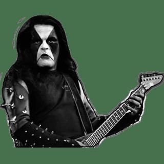 Abbath: membro degli Immortal, heavy metal band di stampo satanista.