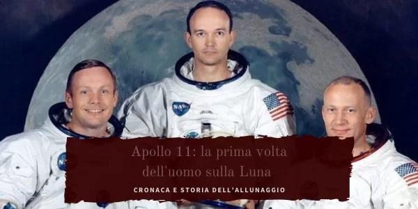 Apollo 11: la prima passeggiata dell'uomo sulla luna.