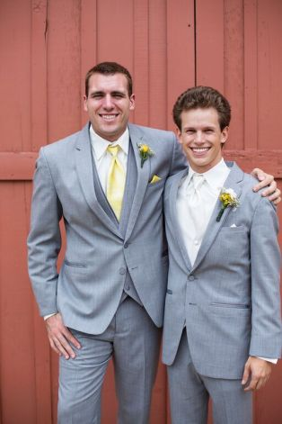 Almost two years ago now, Zack was a groomsman in my wedding