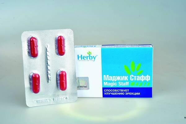 Маджик Стафф для лечения эректильной дисфункции