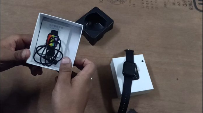 Smartwatch Unboxing W26