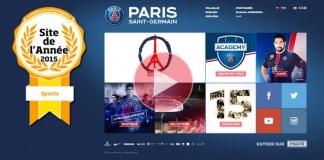 Le site PSG.FR titré !