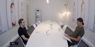 Zlatan Ibrahimovic en mode recruteur pour un entretien d'embauche