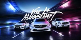 Vive la Mannschaft avec Mercedes-Benz