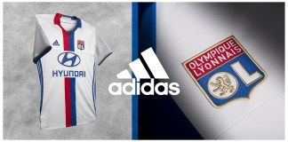 Maillot domicile OL 2016-2017 adidas