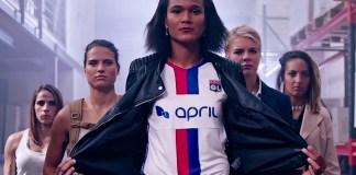 OL Féminin publicite April