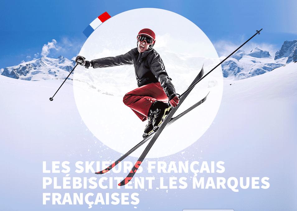 marques de ski préférées des français