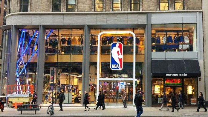 NBA Sport Business Merchandising