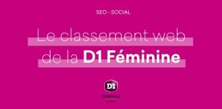 Classement Web D1 Féminine