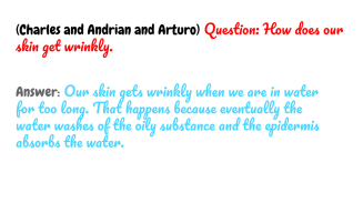 Copy of Human Body Q & A (5) (12)