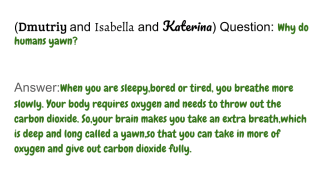 Copy of Human Body Q & A (5) (15)