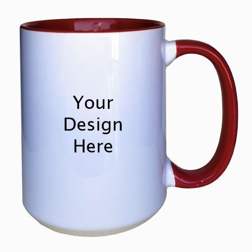 15Oz Red Mug Set of 2