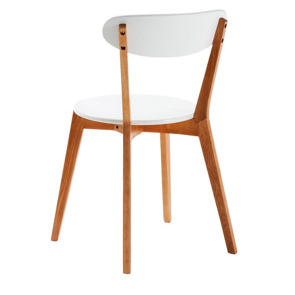 luana chaise de style scandinave structure en bois de chene