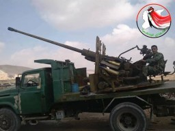 AA guns in Syria (S-60)