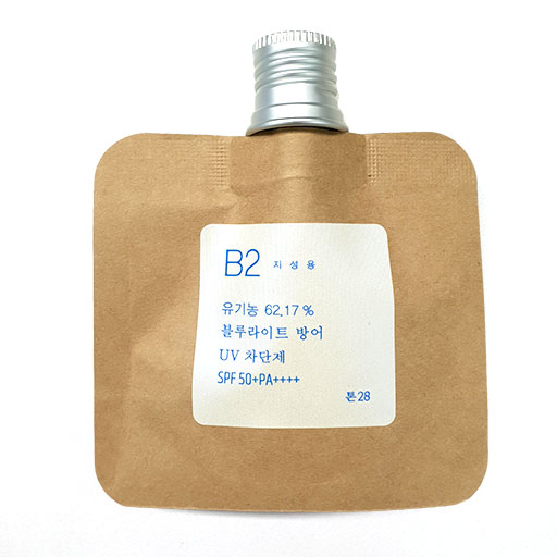 Toun 28 - B2 Organic Sun/Blue Light Block Cream
