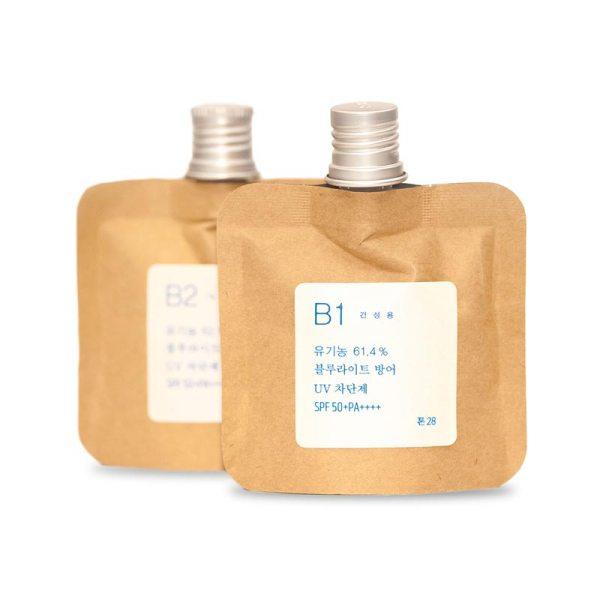 Toun 28 - B1/B2 Organic Sun/Blue Light Block Cream