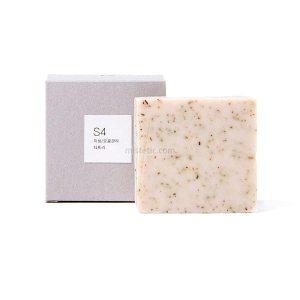 toun28 S4Tea tree + rose powder organic soap bar