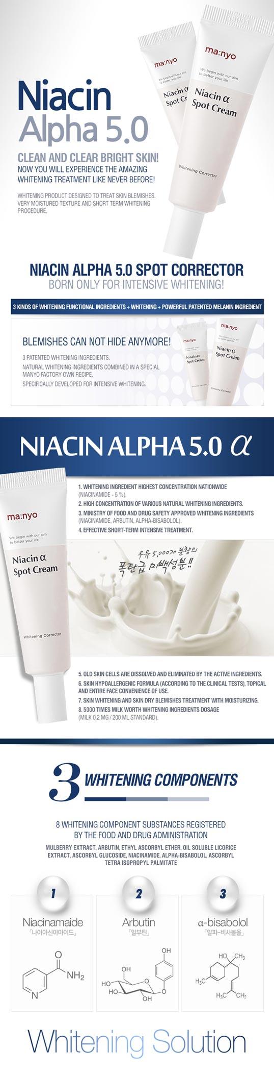 Manyo Factory Niacin Alpha Spot Cream