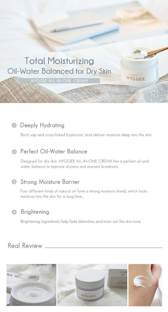 hyggee all-in-one cream suggested use how to