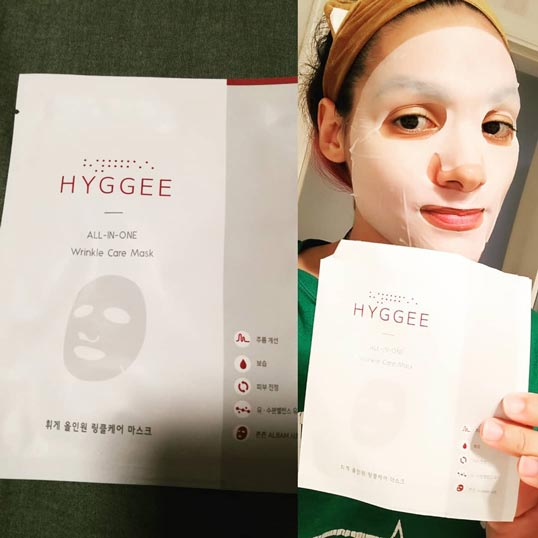 Hyggee All-in-One Wrinkle Care Mask challenge photo
