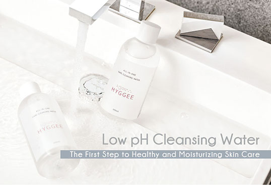 Hyggee All in One Care Cleansing Water low ph5.5
