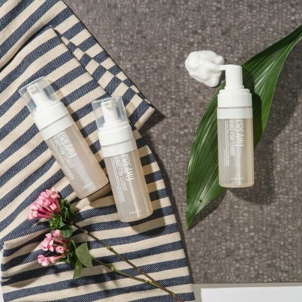 URANG Creamy Bubble Foam Cleanser features