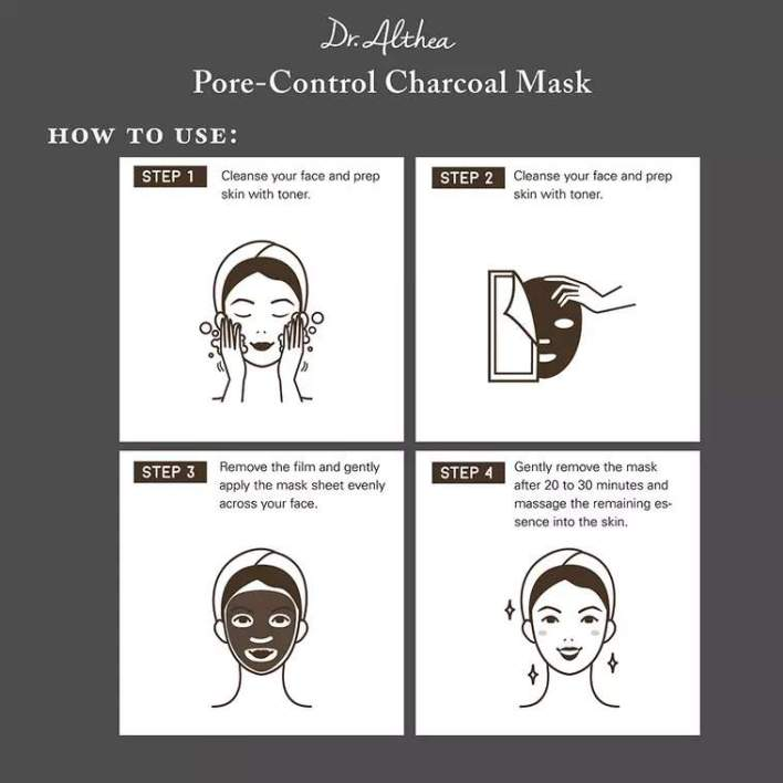 Pore-Control Charcoal Mask how to use