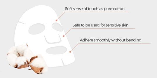 Banobagi cotton facial mask