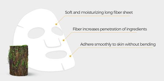 long fiber sheet mask