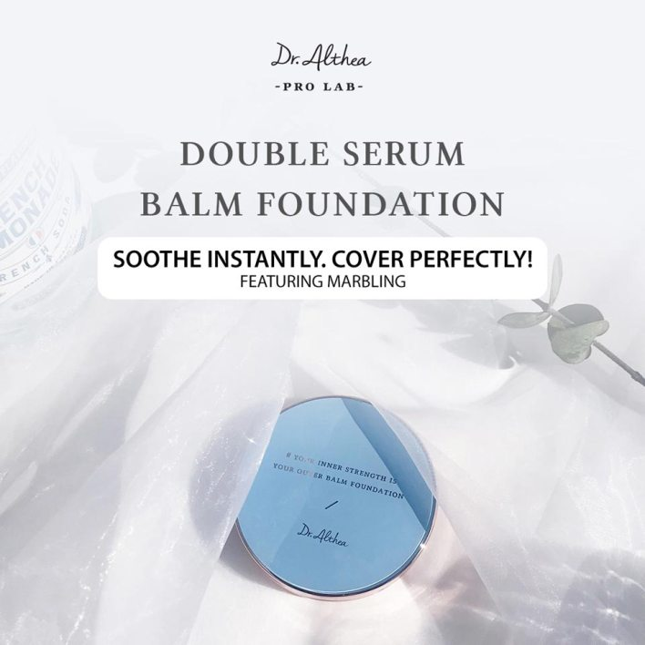Double Serum Balm Foundation features