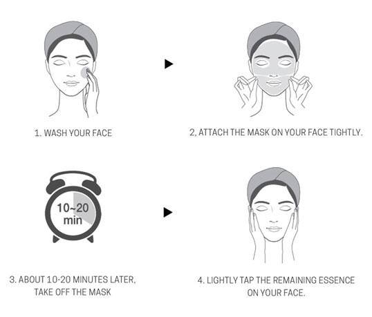 How to use Banobagi Vita Cocktail Foil Mask Age