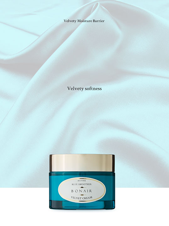 D:ProjectsMisteticproductsbonairBonair Blue Smoother Velvet Cream