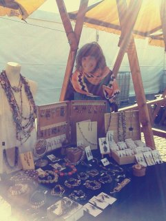 The Mistique Moth at Herbfest 2016 handmade fair