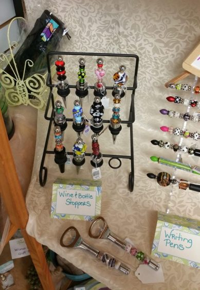 Beads and More Mistletoe Madness Holiday Market vendor