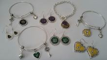 Beads and More custom college themed jewelry