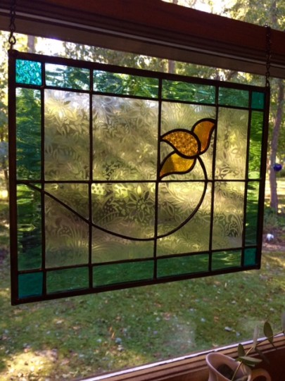 Grey Goose Farm Art stained glass vendor at Mistletoe Madness Holiday Market