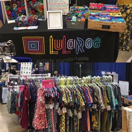 LuLaRoe Jennifer LaPalme Mistletoe Madness Holiday Market vendor