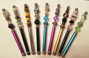 Beads and More custom beaded stylus