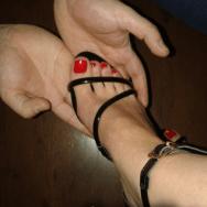 pés femininos adoração