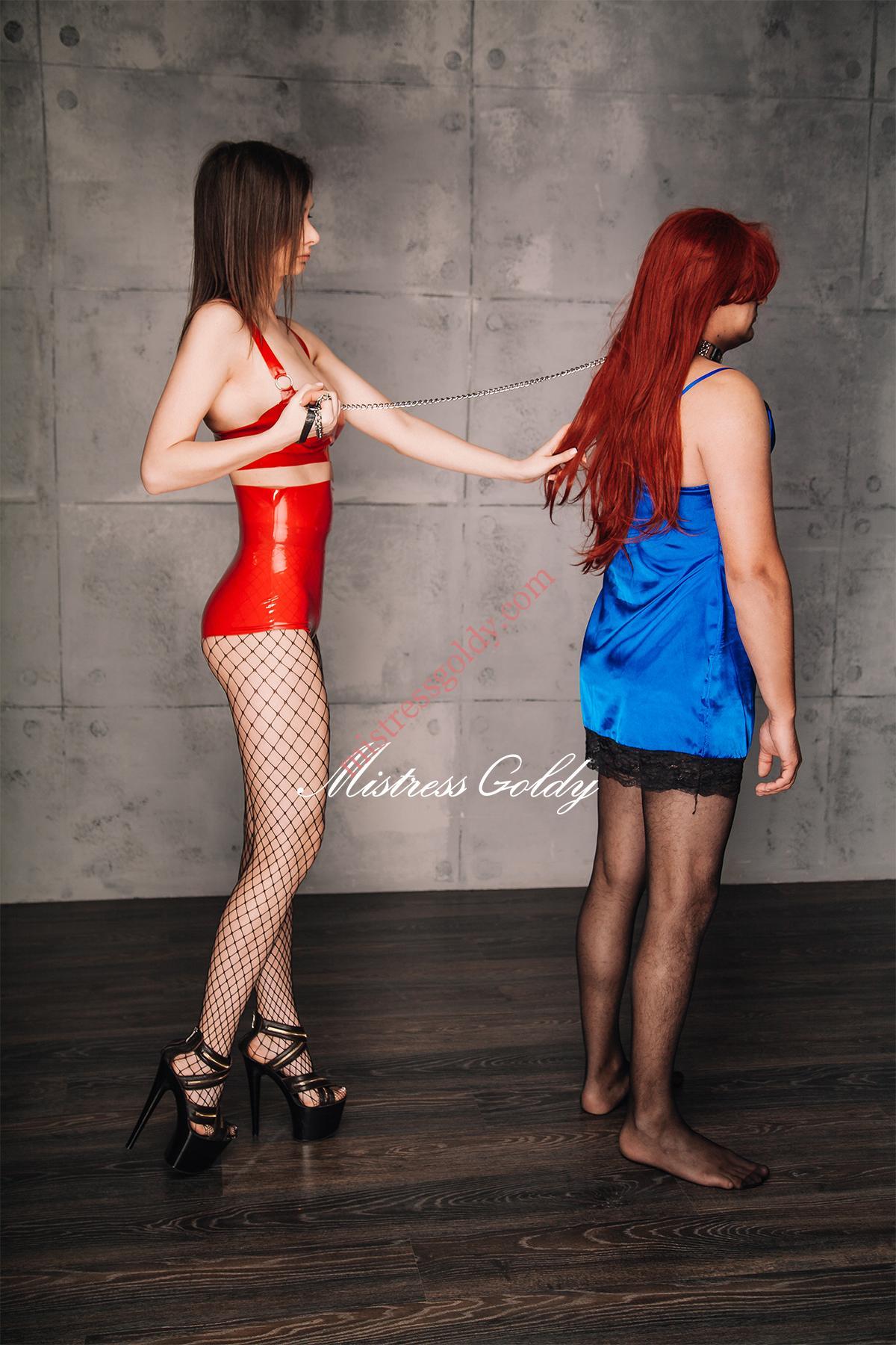 БДСМ-практики и переодевание в девочку - Mistress Goldy ...